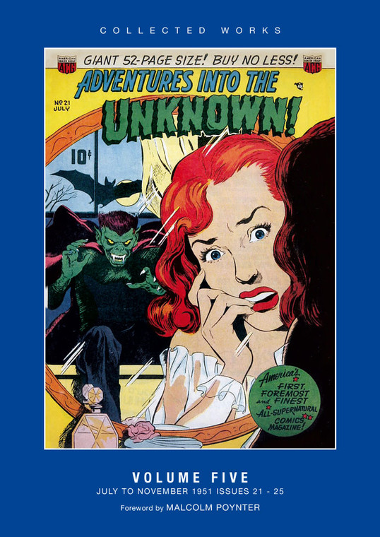 ADVENTURES INTO THE UNKNOWN HC VOL 05