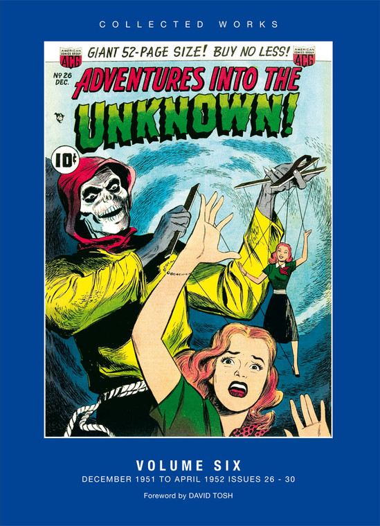 ADVENTURES INTO THE UNKNOWN HC VOL 06