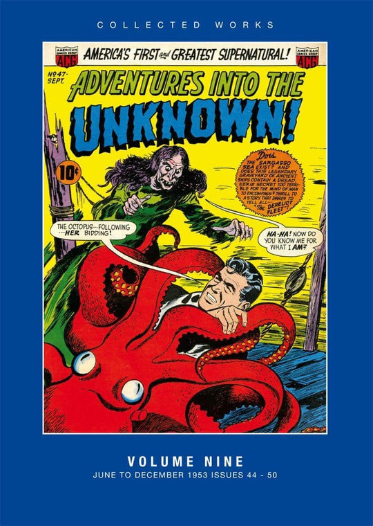ADVENTURES INTO THE UNKNOWN HC VOL 09