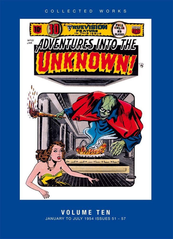 ADVENTURES INTO THE UNKNOWN HC VOL 10
