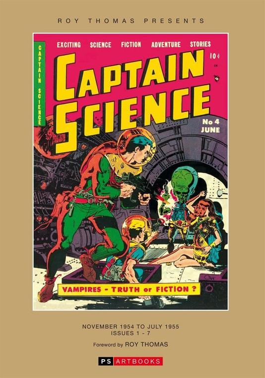 CAPTAIN SCIENCE HC VOL 01