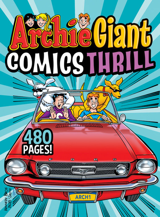 ARCHIE GIANT COMICS THRILL TP