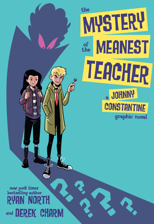 MYSTERY OF MEANEST TEACHER JOHNNY CONSTANTINE GN
