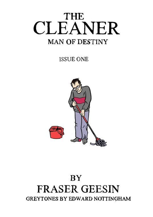 CLEANER MAN OF DESTINY ISSUE 01