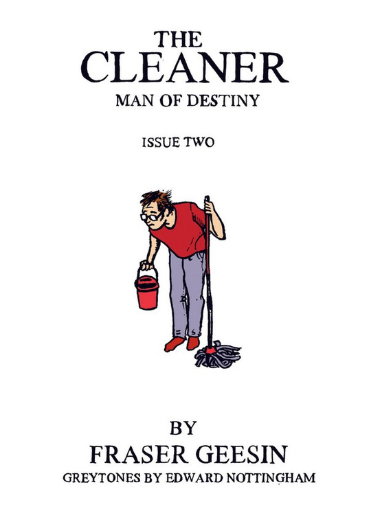 CLEANER MAN OF DESTINY ISSUE 02