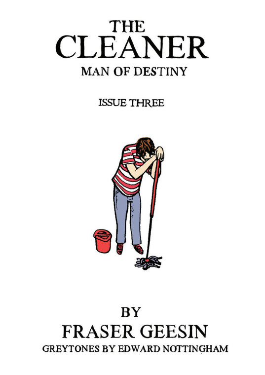 CLEANER MAN OF DESTINY ISSUE 03