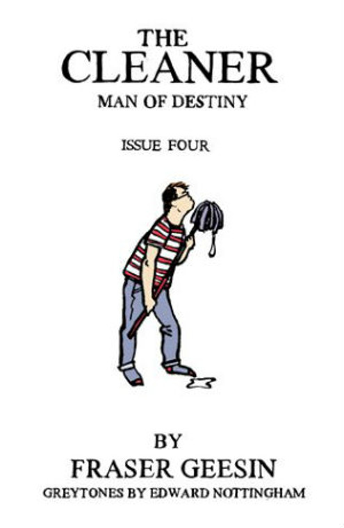 CLEANER MAN OF DESTINY ISSUE 04