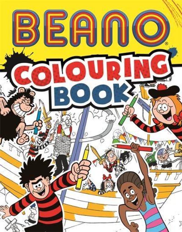BEANO COLOURING BOOK SC