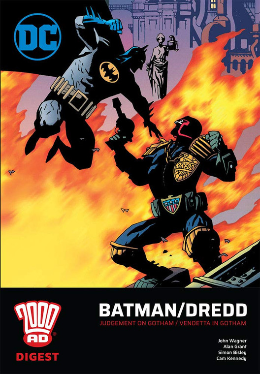 BATMAN DREDD TP DIGEST EDITION