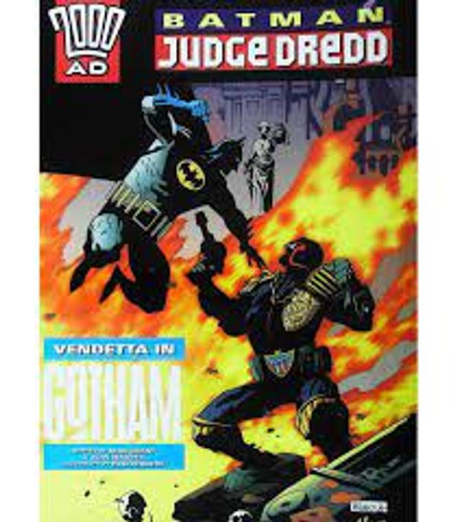 BATMAN JUDGE DREDD VENDETTA IN GOTHAM TP