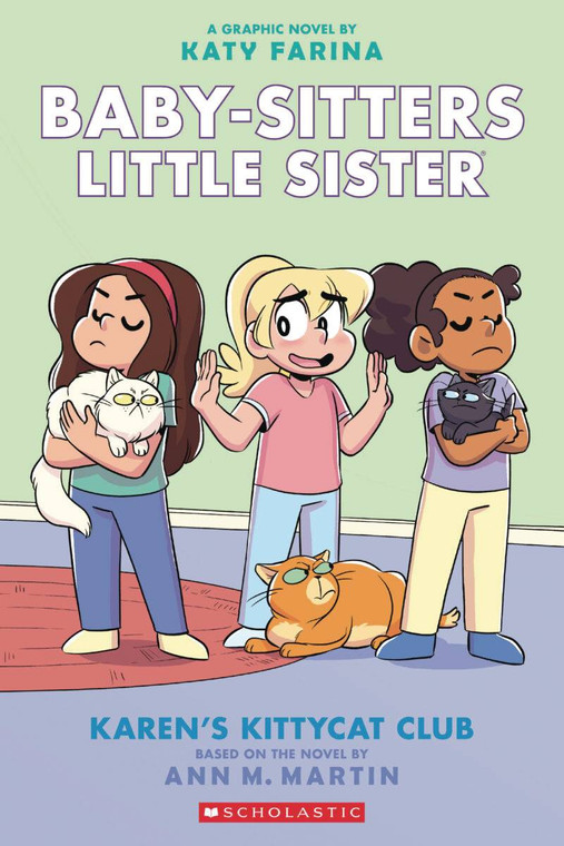 BABY SITTERS LITTLE SISTER GN VOL 04