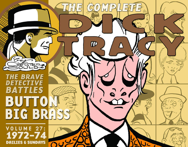 RECYCLED - COMPLETE DICK TRACY  VOL 27 1972-74 HC
