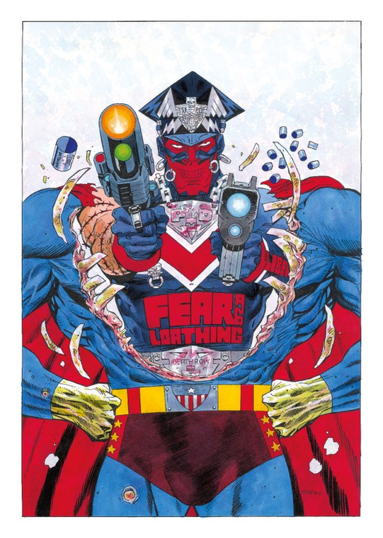 MARSHAL LAW SUPER BABYLON PRINT SIGNED BY KEVIN O'NEILL