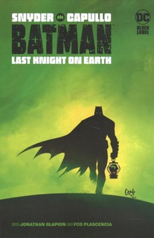 BATMAN LAST KNIGHT ON EARTH SC