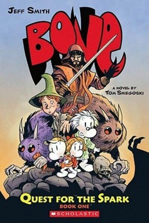 BONE QUEST FOR SPARK SC BOOK 1