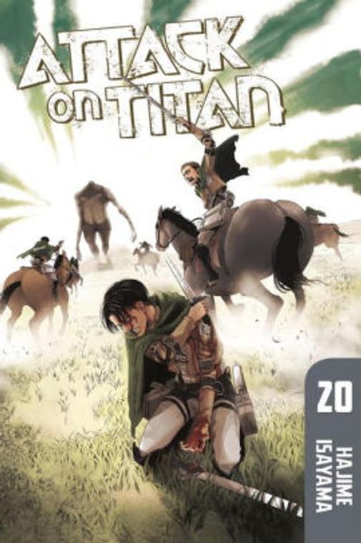 ATTACK ON TITAN VOL 20