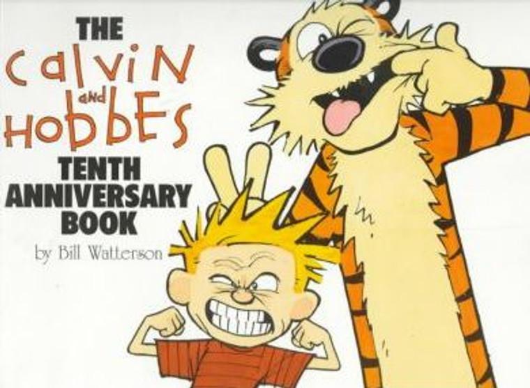 CALVIN & HOBBES 10TH ANNIVERSARY BOOK SC