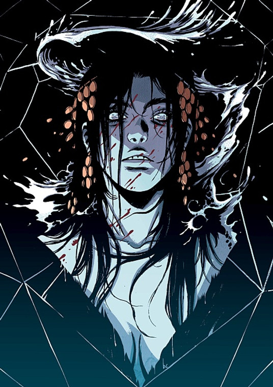 BY CHANCE OR PROVIDENCE PRINT BY BECKY CLOONAN