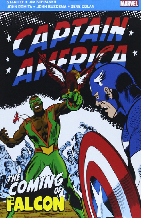 CAPTAIN AMERICA THE COMING OF THE FALCON POCKETBOOK