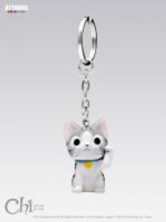 CHI KEYRING CHI CAT GOOD LUCK FORTUNE