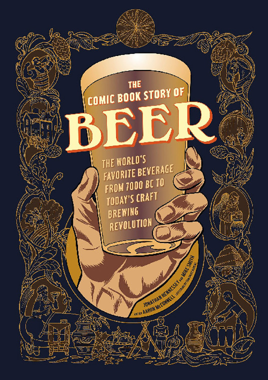 COMIC BOOK STORY OF BEER GN