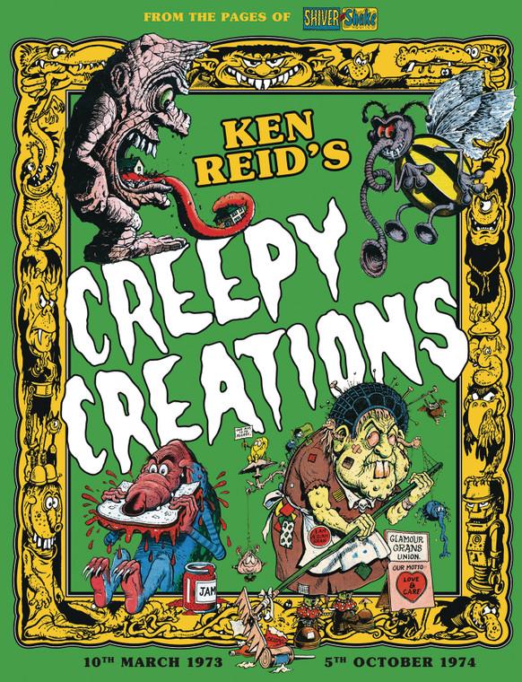KEN REIDS CREEPY CREATIONS HC