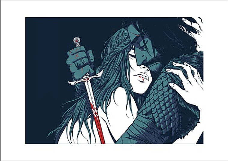 DAGGER THE PRINT BY BECKY CLOONAN