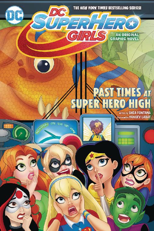 DC SUPER HERO GIRLS TP VOL 04 PAST TIMES AT SUPERHERO HIGH