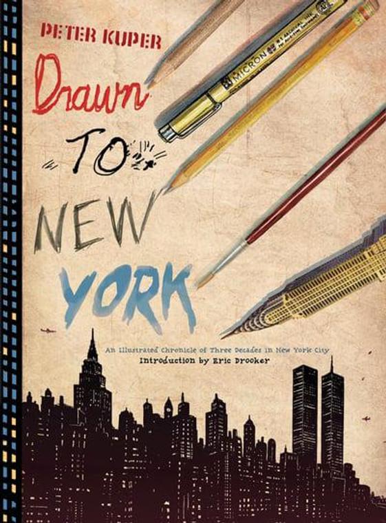 DRAWN TO NEW YORK HC