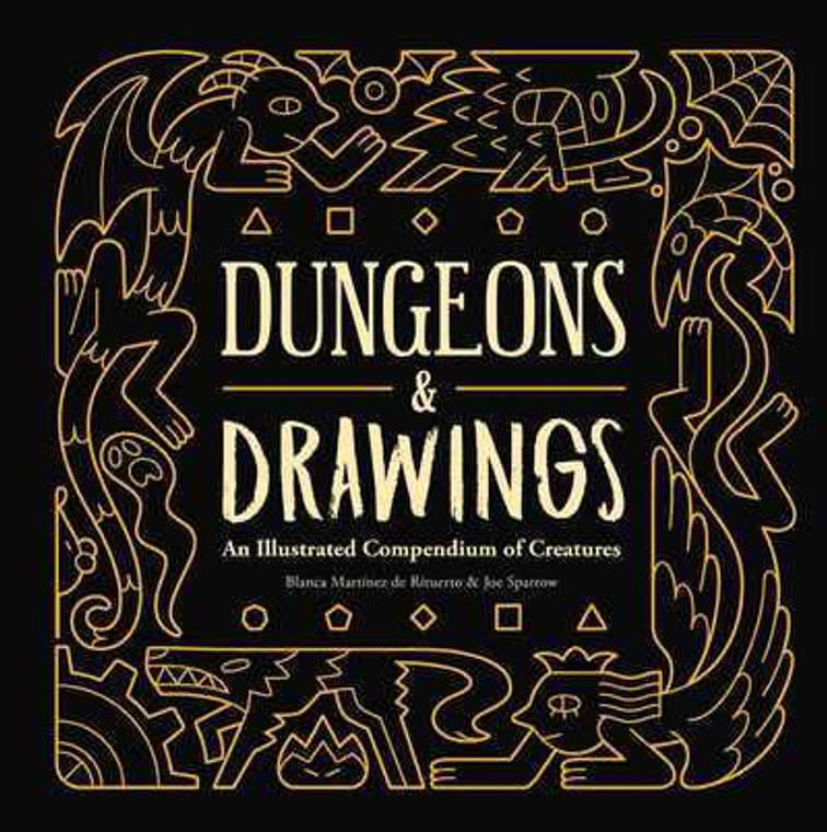 DUNGEONS AND DRAWINGS HC