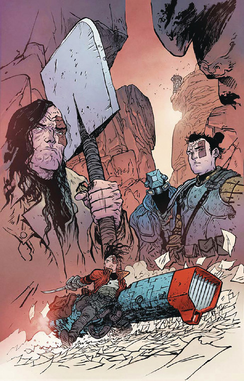 EXTREMITY TP VOL 01 BOOKPLATE EDITION