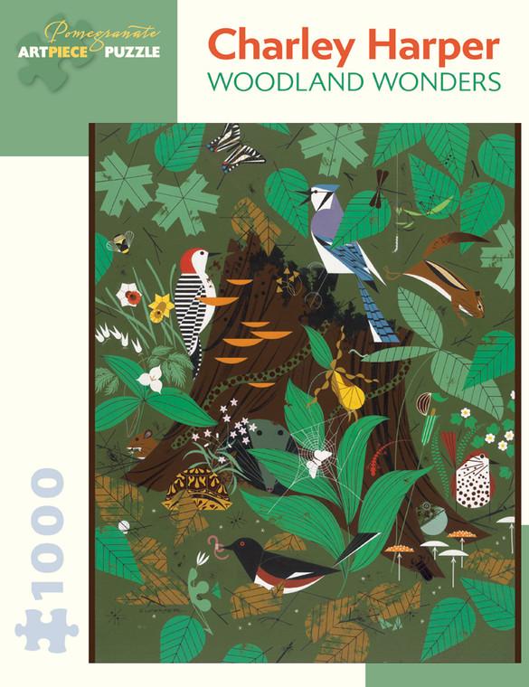 CHARLEY HARPER WOODLAND WONDERS 1000 PIECE PUZZLE