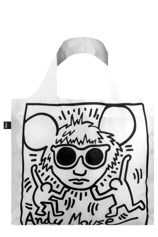 KEITH HARING ANDY MOUSE BAG