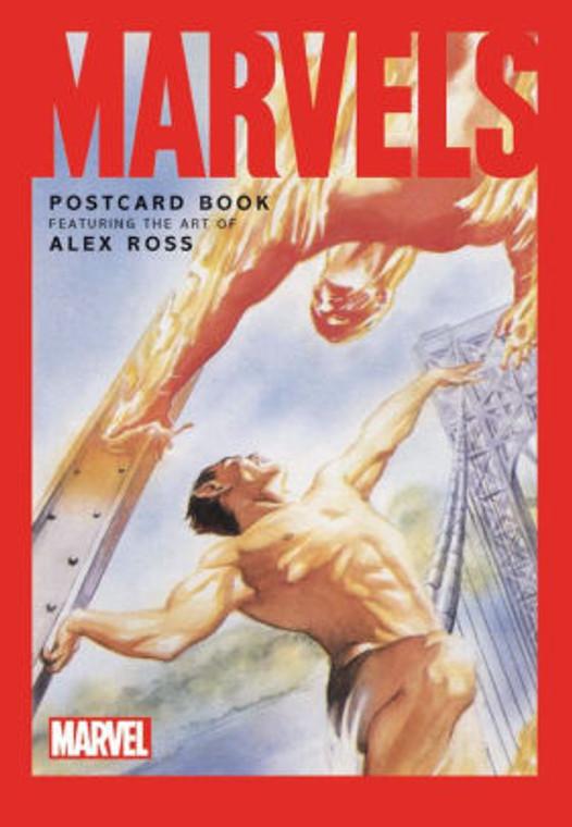 MARVELS POSTCARD BOOK HC