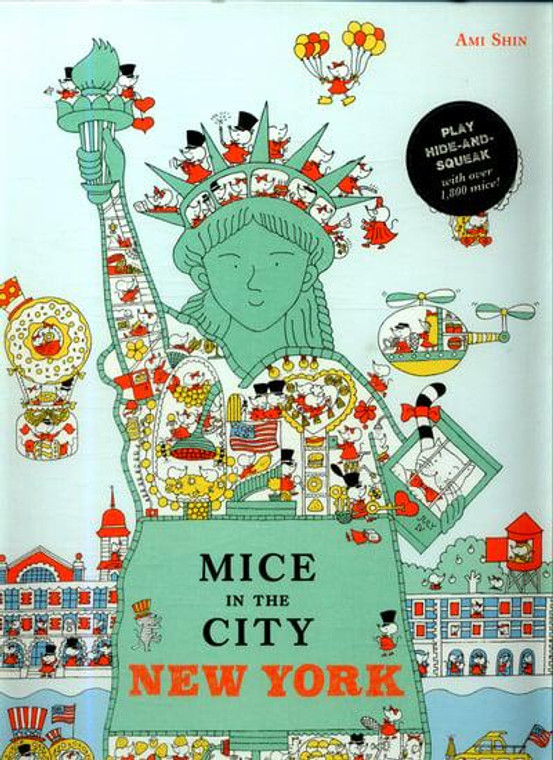 MICE IN THE CITY NEW YORK HC