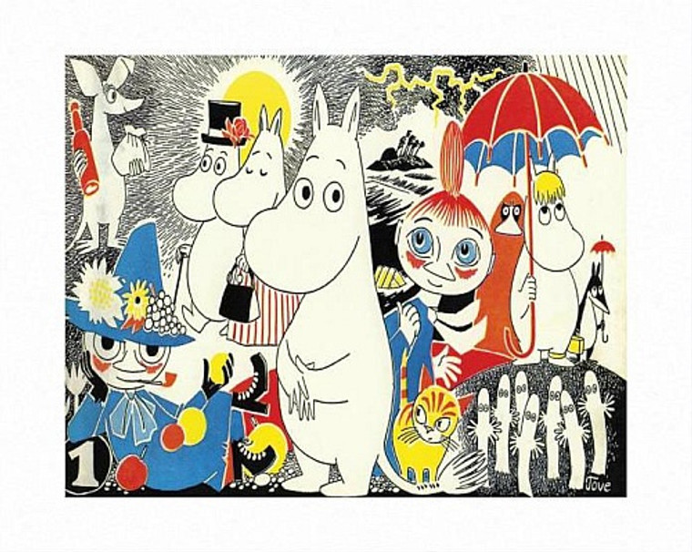 MOOMIN COMIC COVER 1 PRINT BY TOVE JANSSON
