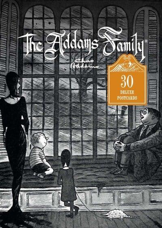 ADDAMS FAMILY POSTCARDS BOX