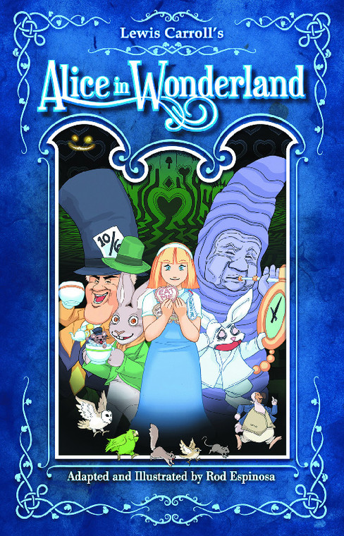 ALICE IN WONDERLAND THE STORY OF THE MOVIE HC