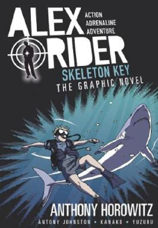 ALEX RIDER 03 SKELETON KEY SC