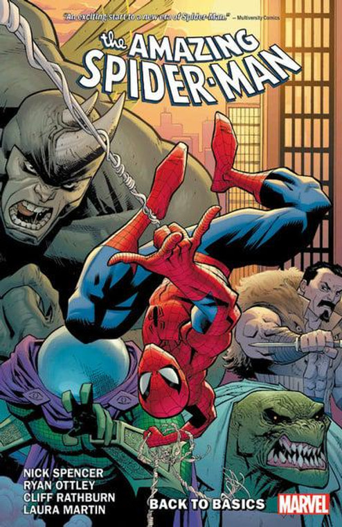 AMAZING SPIDER-MAN BY SPENCER TP VOL 01