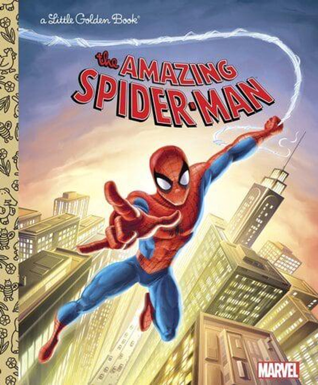 AMAZING SPIDER-MAN LITTLE GOLDEN BOOK