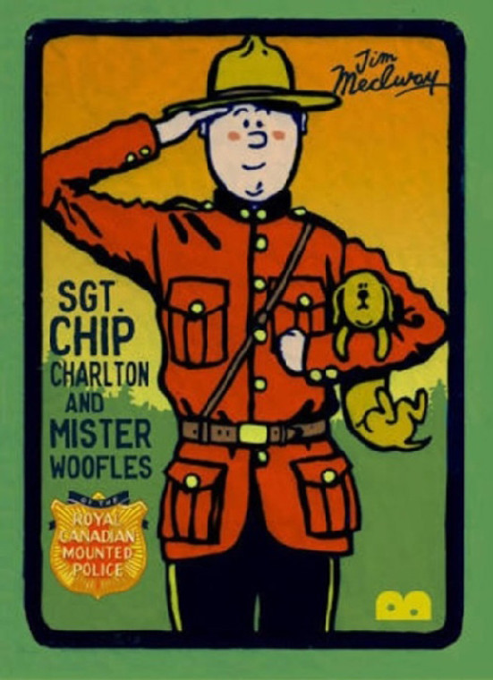 SGT CHIP CHARLTON & MR WOOFLES OF THE ROYAL CANADIAN MOUNTED POLICE SC