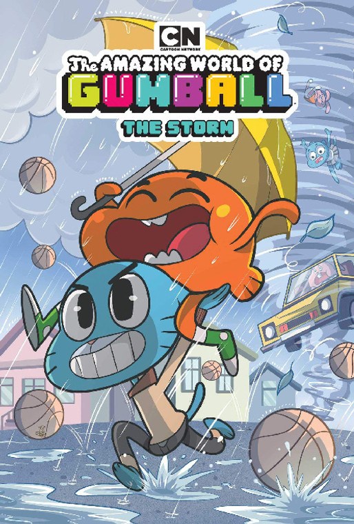 AMAZING WORLD OF GUMBALL THE STORM GN