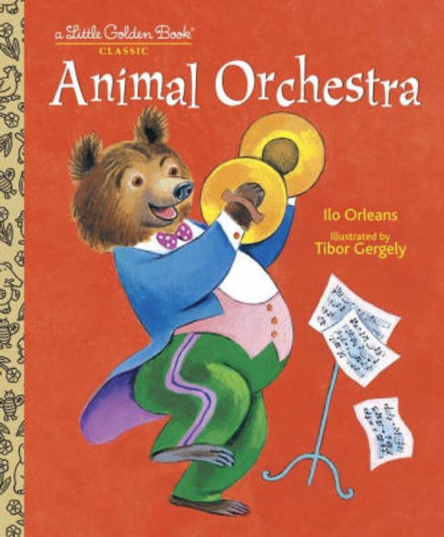 ANIMAL ORCHESTRA LITTLE GOLDEN BOOK