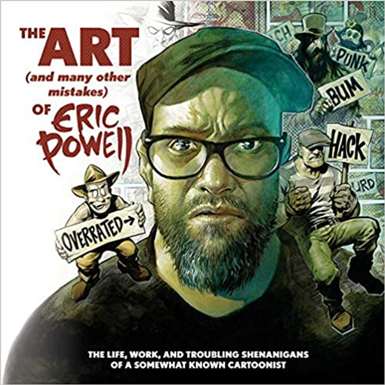 ART AND MANY MISTAKES OF ERIC POWELL HC