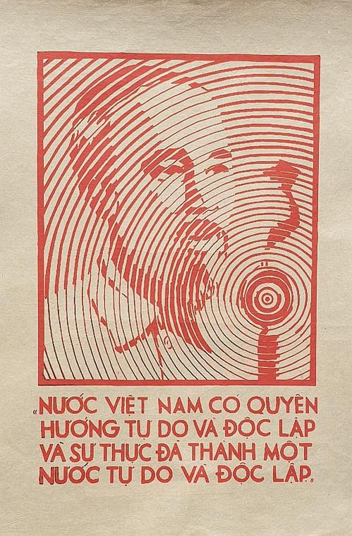 VIETNAMESE PROPAGANDA PRINT VIETNAM HAS THE RIGHT