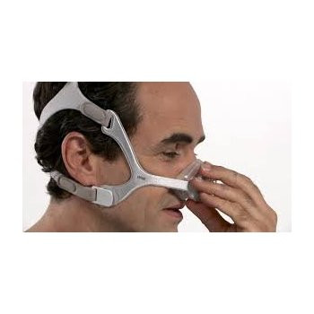Wisp Nasal Mask with Fabric Frame without Headgear