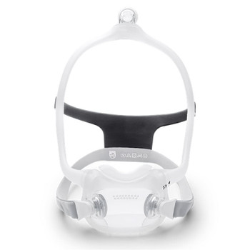 DreamWear Full Face Mask with Headgear, Large Frame with choice of Cushion size