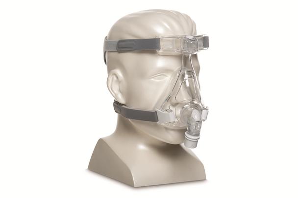 Amara Full Face Silicone Mask with Headgear