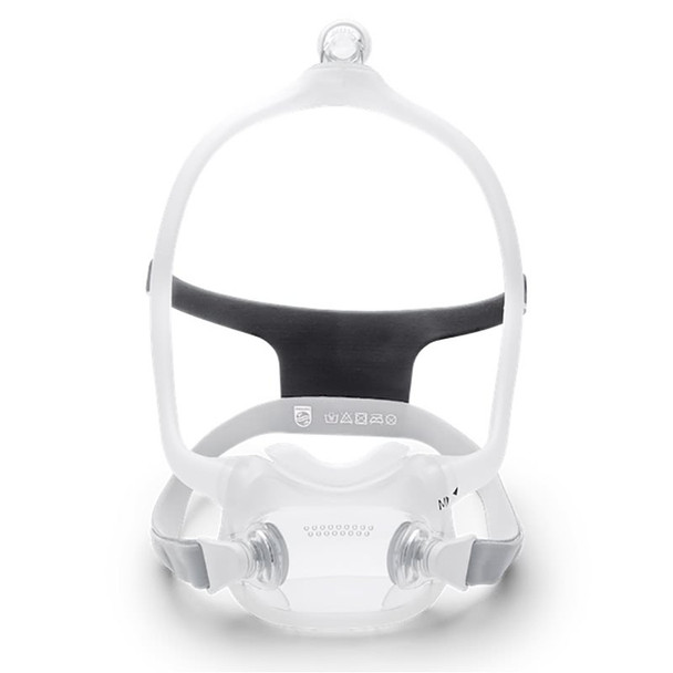 DreamWear Full Face Mask with Headgear, Medium Frame with choice of Cushion size